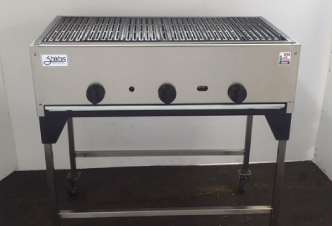 "36"" Catering Cart full broiler"